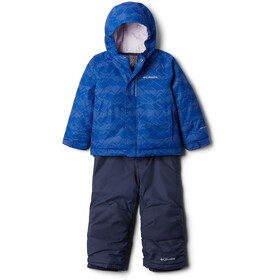 Columbia Buga Set Toddler lapis blue dot scape print/pale lilac